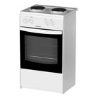 Плита электрическая Darina S EM 521 404 W, 2 конфорки, 45 л, электрическая духовка, белая