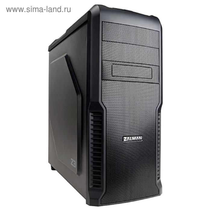 Корпус Zalman Z3, Без БП, ATX, черный