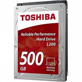 Жесткий диск Toshiba L200 500Gb (HDWJ105UZSVA) SATA-III