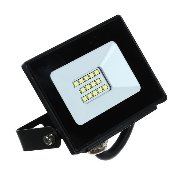 Прожектор светодиодный LLT СДО-5-10, 10 Вт, 230 В, 6500 К, 800 Лм, IP65