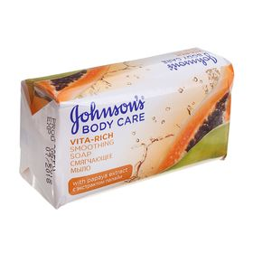 "Мыло Johnson's Body Care Vita-Rich ""Смягчающее"", с экстрактом папайи, 125 г"