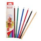 """Карандаши 6 цветов """"Русский карандаш. Сказки"""", шестигранные, длина 175мм, ok 6.4мм"""