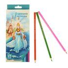 Карандаши 12 цветов «Русский карандаш. Сказки», шестигранные, длина 175 мм, ok 6.4 мм