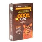 Мультивитаминное лакомство GOOD CAT для кошек, голландский сыр, 90 таб - Фото 2
