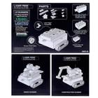 Конструктор «Военная машина с деталями», 8 в 1, 27 деталей - Фото 4