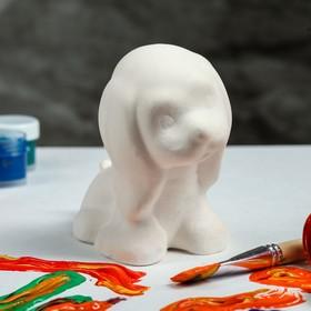 Копилка-раскраска 'Собачка Мило', 12 см Ош