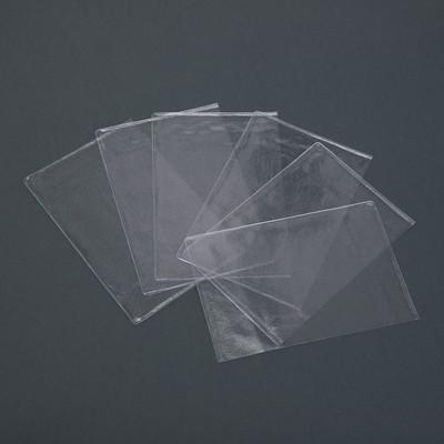 Чехол для листов паспорта, прозрачный, 10 шт