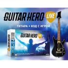 Игра для IPAD Guitar Hero Live Bundle. Гитара + код с игрой
