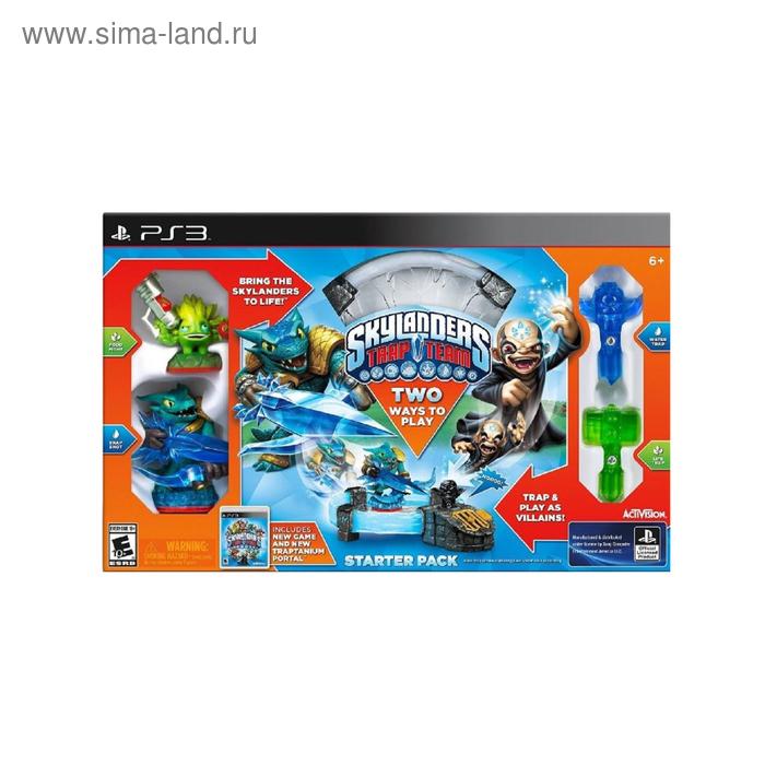 Игра для Sony PlayStation 3 Skylanders Trap Team Стартовый набор