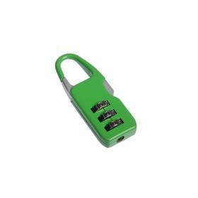 Замок навесной TRODOS CL510A, кодовый, зеленый Ош