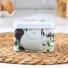Банка для сыпучих продуктов «Чайная церемония», 400 мл, d=6,9 см, прямоугольная, МИКС - Фото 2