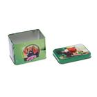 Банка для сыпучих продуктов «Чайная церемония», 400 мл, d=6,9 см, прямоугольная, МИКС - Фото 5