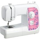 Швейная машина Brother CX 5, 50 Вт, 5 операций, ручная, бело-розовая