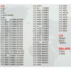Пылесборник синтетический Ozone micron M-08, 5 шт (LG TB-36) - Фото 3