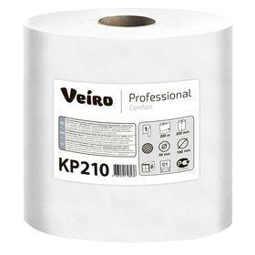 Полотенца бумажные Veiro Professional Comfort в рулонах с ЦВ, 200 метров