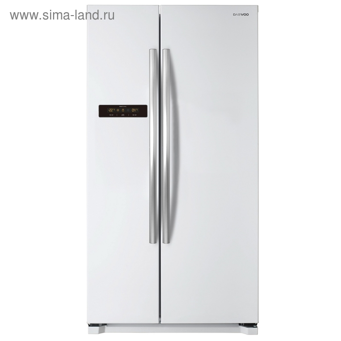 Холодильник Daewoo FRN-X22B5CW, класс А+, 622 л, Full No Frost, дисплей, белый