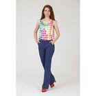 Блуза женская, размер 42, рост 170 см, цвет МИКС (арт. Y1145-0230)
