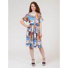 Платье женское, размер 42, рост 170 см, цвет цветной принт (арт. Y1158-0239 new)