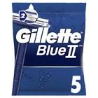 Набор одноразовых бритв Gillette Blue II, 5 шт