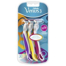 Бритва Gillette Venus 3, одноразовая, 3 шт.