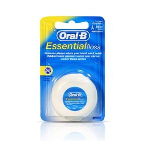 Зубная нить Oral-B Essential, невощеная, 50 м