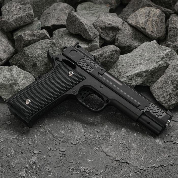 Пистолет пружинный Galaxy Browning G.20, клб 6 мм