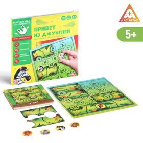 Магнитная игра «Привет из джунглей»