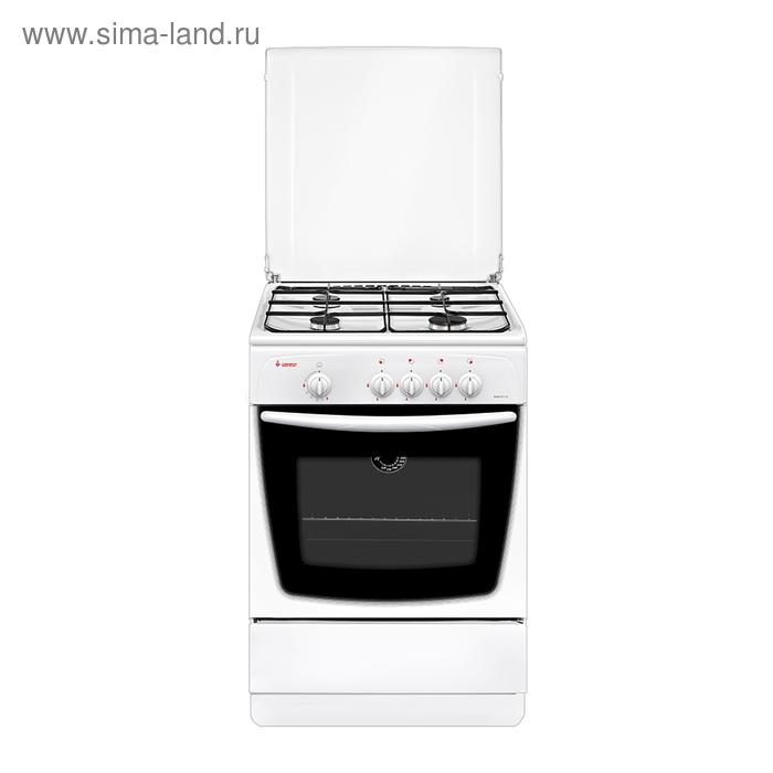 Плита газовая Gefest 1200-С7 К8, 4 конфорки, 63 л, газовая духовка, белая