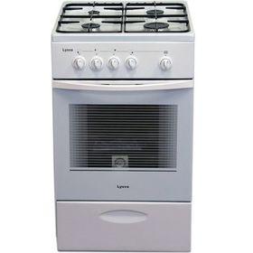 Плита 'Лысьва' ГП 400 МС-2у, газовая, 4 конфорки, 57 л, без крышки, белая Ош