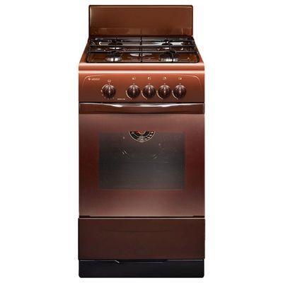 Плита Gefest 3200-08 К19, газовая, 4 конфорки, 42 л, газовая духовка, коричневая