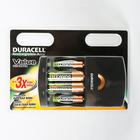 Набор аккумуляторов Duracell CEF14, AA1700mAh, 2шт + ААА750mAh, 2шт