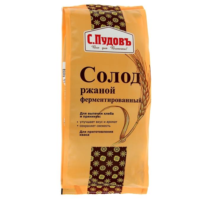 Солод ржаной ферментированный «С. Пудовъ», 300 г