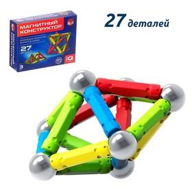 Магнитный конструктор, 27 деталей Ош