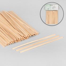 Шпатель для депиляции, деревянный, 14 × 0,6 см Ош