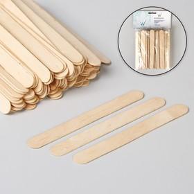 Шпатель для депиляции, деревянный, 14 × 1,4 см