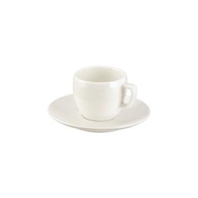 Чашка для эспрессо Tescoma Crema, с блюдцем, 100 мл