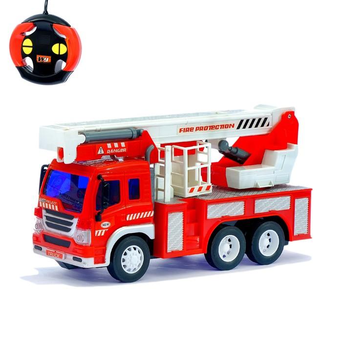 Машина радиоуправляемая «Пожарная служба», работает от батареек