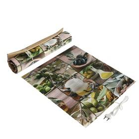 Сушилка для овощей и фруктов 'Самобранка', 100 Вт, 50 х 50 см, рисунок 'Фрукты микс' Ош