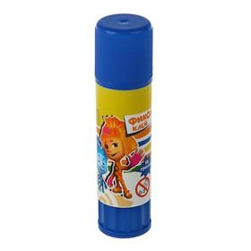 """Клeй-карандаш с дизайном ПВА 15 г, """"Фиксики"""""""