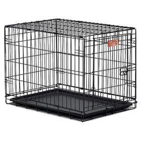 Клетка Midwest iCrate с одной дверью, 76 х 48 х 53 см, черная Ош