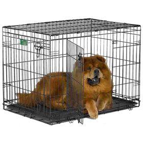Клетка Midwest iCrate, 2 двери, 91 х 58 х 64 см, черная