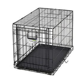 Клетка рельсовая Midwest Ovation с одной дверью, 79 х 49 х 54.6 см, чёрная Ош