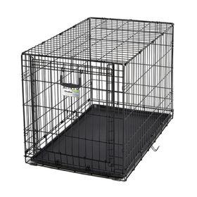 Клетка рельсовая Midwest Ovation с одной дверью, 94.6 х 58.4 х 63.5 см, чёрная