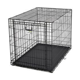 Клетка рельсовая Midwest Ovation с одной дверью, 111 х 71.7 х 76.8 см, чёрная