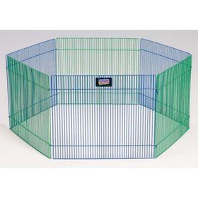 Вольер Midwest для грызунов, 6 панелей, 48х38h см, цветной