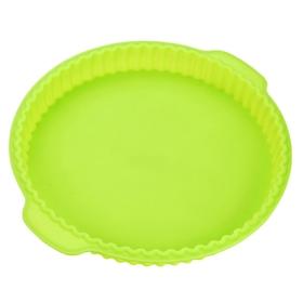 Форма для выпечки CALVE, круглая, 31,2х28х3,5 см, цвет МИКС