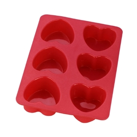 Форма для кексов CALVE, 6 ячеек, 27.7х18.4х3.5 см