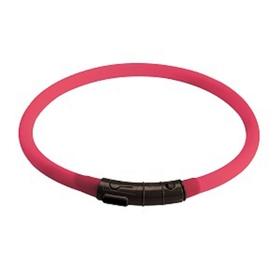 Светящийся шнурок на шею Hunter LED  20-70 см розовый