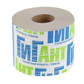 """Туалетная бумага """"Снежок"""" """"Гигант"""", со втулкой, 1 слой"""