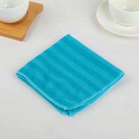 Салфетка для уборки Доляна, 30×30 см, 160 г/м2, цвет МИКС Ош